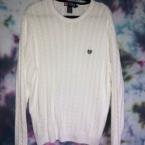White Chaps Sweater